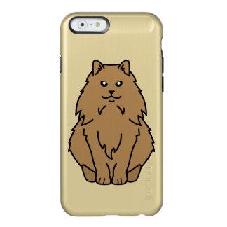 Dibujo animado noruego del gato del bosque funda para iPhone 6 plus incipio feather shine