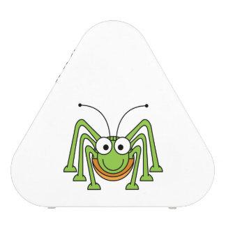 Dibujo animado observado insecto del saltamontes altavoz bluetooth