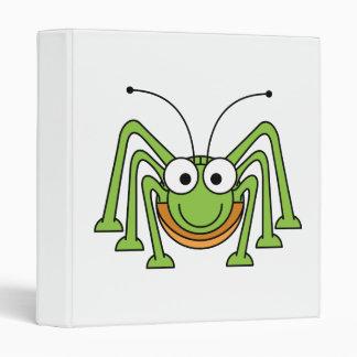 Dibujo animado observado insecto del saltamontes