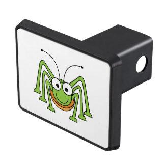 Dibujo animado observado insecto del saltamontes tapas de tráiler