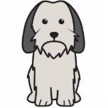 Dibujo animado pequeno del perro de Griffon Vendee Esculturas Fotograficas