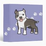 Dibujo animado Pitbull/Staffordshire Terrier ameri