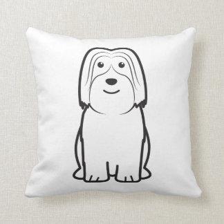 Dibujo animado polaco del perro del perro pastor d almohadas