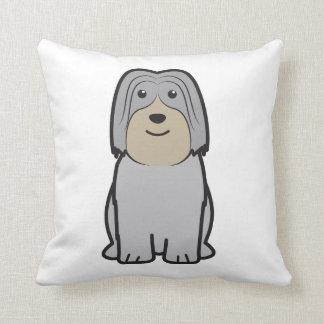 Dibujo animado polaco del perro del perro pastor d cojin