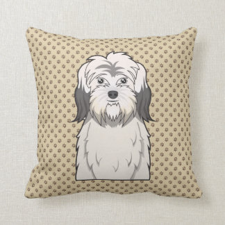 Dibujo animado polaco del perro pastor de la tierr almohadas