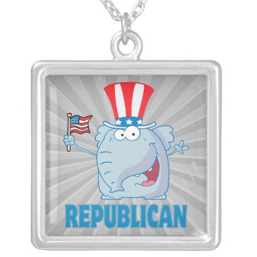 dibujo animado político del elefante republicano l pendiente