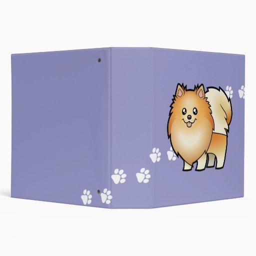 """Dibujo animado Pomeranian Carpeta 2"""""""