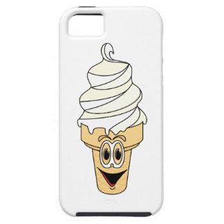Dibujo animado poner crema del cono de Vanilla Ice iPhone 5 Carcasa