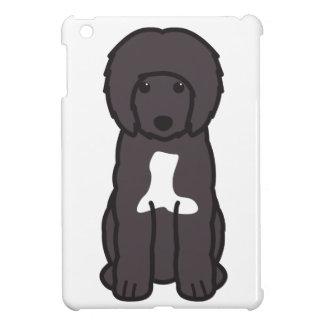 Dibujo animado portugués del perro de agua iPad mini cárcasas