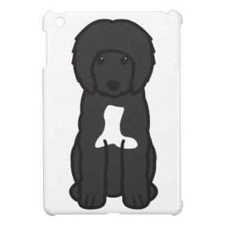 Dibujo animado portugués del perro de agua iPad mini protector