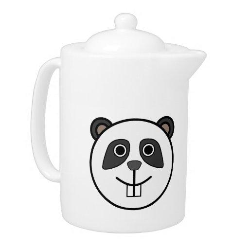 Dibujo animado principal de la panda