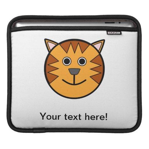 Dibujo animado principal del tigre manga de iPad