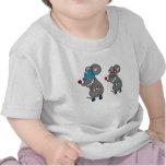 Dibujo animado-ratón camisetas