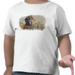 Dibujo animado revolucionario sobre diezmos camiseta