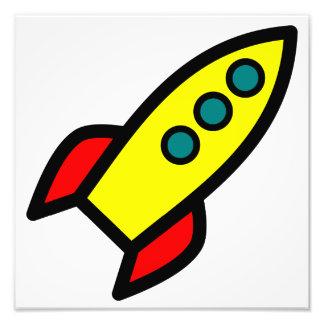 Dibujo animado Rocket Impresion Fotografica
