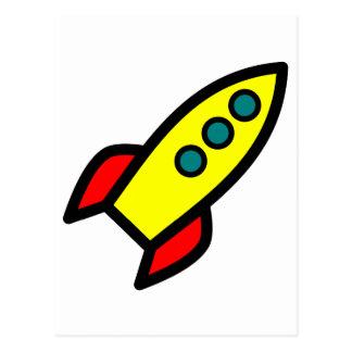 Dibujo animado Rocket Postal