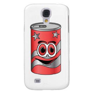 Dibujo animado rojo de la poder de soda