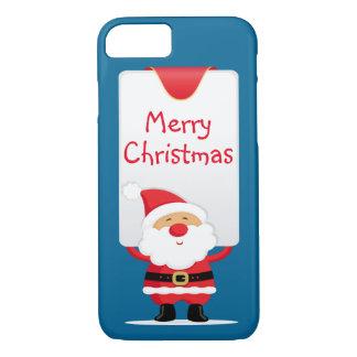 Dibujo animado Santa de las Felices Navidad Funda iPhone 7