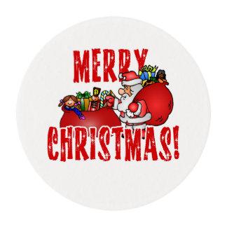 Dibujo animado Santa y bolsos de los juguetes del Obleas Para Galletas