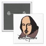 Dibujo animado Shakespeare Pins