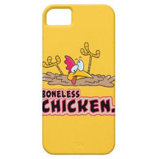 dibujo animado sin hueso divertido del pollo iPhone 5 protectores