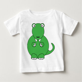 Dibujo animado T-Rex (verde) Remera