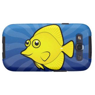 Dibujo animado Tang/Surgeonfish 1 Galaxy S3 Protector