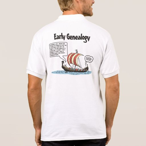Dibujo animado temprano de la genealogía polos