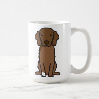 Dibujo animado tocante del perro del perro perdigu tazas