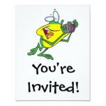 dibujo animado tonto de la rana del fotógrafo comunicados personalizados