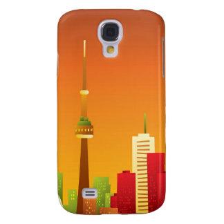 Dibujo animado Toronto Funda Para Galaxy S4