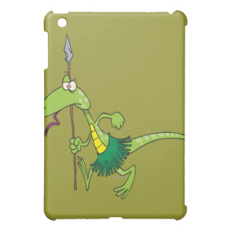 dibujo animado tribal del lagarto de la tribu nati