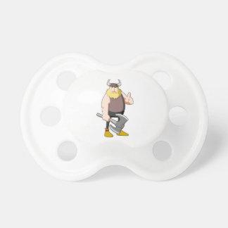 Dibujo animado Viking Chupetes De Bebé