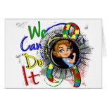 Dibujo animado WCDI de Rosie del autismo Felicitación