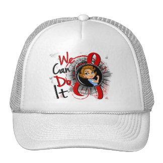 Dibujo animado WCDI de Rosie del SIDA Gorros