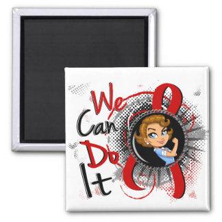 Dibujo animado WCDI de Rosie del SIDA Imán De Frigorífico