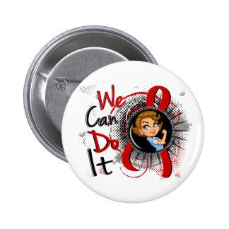Dibujo animado WCDI de Rosie del SIDA Pins