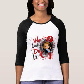 Dibujo animado WCDI de Rosie del SIDA Tee Shirts