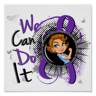 Dibujo animado WCDI.png de Rosie de la epilepsia Póster