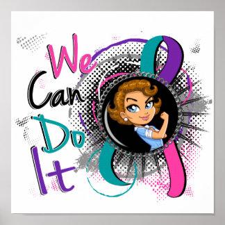 Dibujo animado WCDI.png de Rosie del cáncer de tir Impresiones