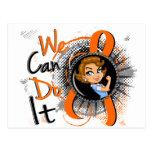 Dibujo animado WCDI.png del ms Rosie Tarjeta Postal