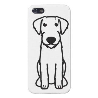 Dibujo animado Wirehaired alemán del perro del ind iPhone 5 Cobertura