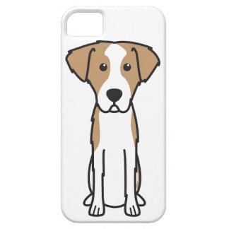 Dibujo animado Wirehaired del perro de caza de iPhone 5 Case-Mate Carcasas