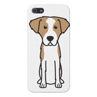 Dibujo animado Wirehaired del perro de caza de iPhone 5 Carcasa