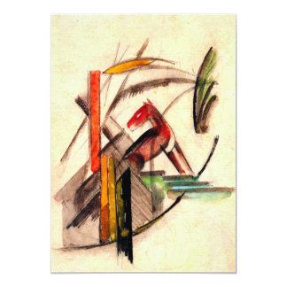Dibujo animal del pintor del expresionista de comunicado personalizado