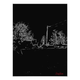 dibujo blanco y negro fotografías