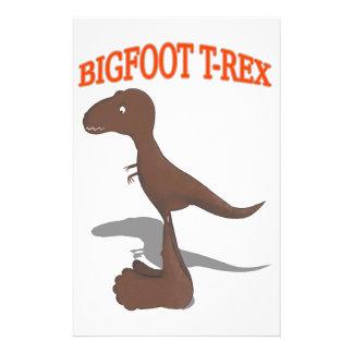 Dibujo de Bigfoot T-Rex Papelería De Diseño