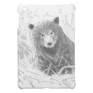 Dibujo de Cub de oso grizzly iPad Mini Cárcasa