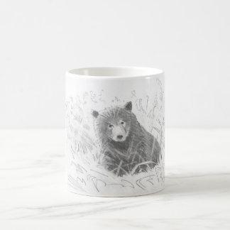 Dibujo de Cub de oso grizzly Taza Clásica