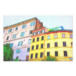 Dibujo de la arquitectura de Roma Fotos